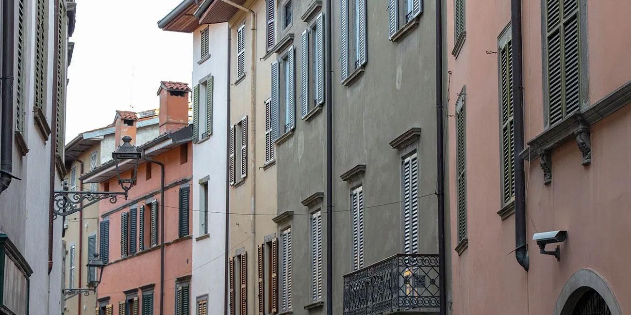 Affitto appartamento Bergamo via Pignolo 35/a