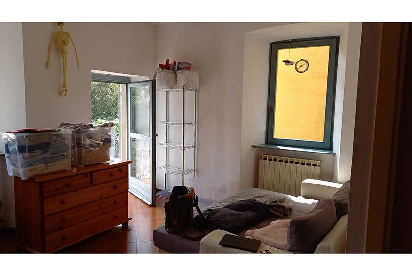 affitto appartamento bergamo via pignolo 35a zona giorno